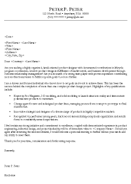 engineer cover letter example cover letter example letter