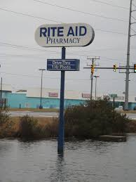 rite aid sign in a pond ebert sign company inc