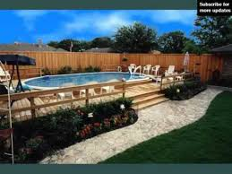 above ground pool deck plans u0026 ideas youtube