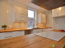 comptoir cuisine bois comptoir de cuisine en bois le bois chez vous