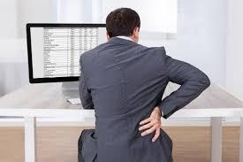 bureau m al travailler debout au bureau la solution au mal de dos jol