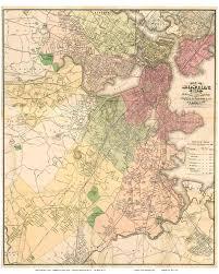 Boston Road Map by Imagine Boston 2030 Boston U0027s Emerald Necklace U2013 A Connected