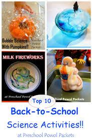 top 10 back to science activities preschool powol packets
