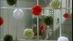 video how to make a paper puff pom poms martha stewart