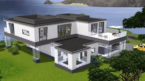modern house by the sea the sims 3 nowoczesny dom nad morzem