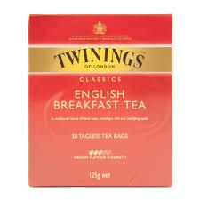 twinings breakfast tea 50pk woolworths co za