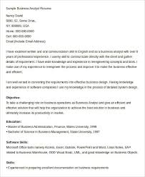 Sample Business Analyst Resume by Sap Certified Application Associate Web Intelligence 3x Business