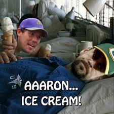 Lieutenant Dan Ice Cream Meme - a a ron i brought you some ice cream chibears