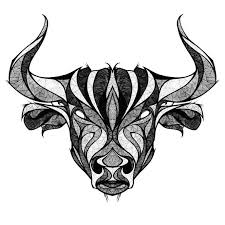 taurus the bull head tattoo design taurus bull taurus and drawings