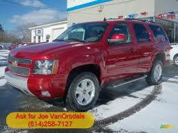 2012 crystal red tintcoat chevrolet tahoe z71 4x4 60328334