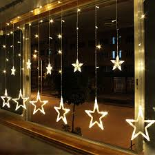 warm white 12 twinkling 48led string lights