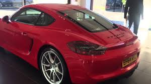 guards red porsche 2015 porsche cayman gts guards red youtube