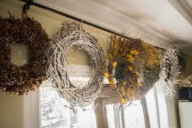 to earth style wreath storage bar
