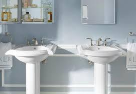 bathroom pedestal sink ideas bathroom pedestal sinks at the home depot