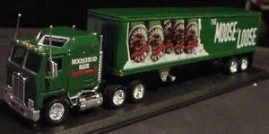 kenworth tractor trailer moosehead beer matchbox kenworth tractor trailer truck 1997 canada
