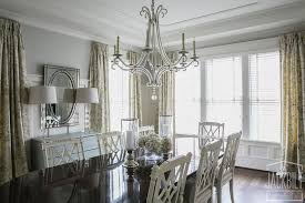 Chippendale Dining Table With White French Dining Chairs French - Chippendale dining room
