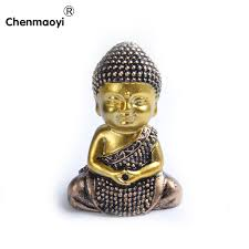 Statue For Home Decoration Chenmaoyi New Product Buddhist Golden Resin Buddha Statue Home