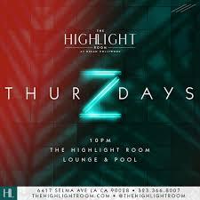 thurzdaysthe highlight room