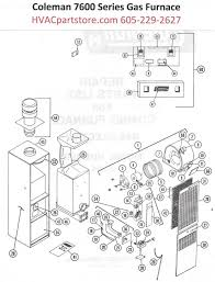 collection series coleman gas furnace wiring diagram pictures