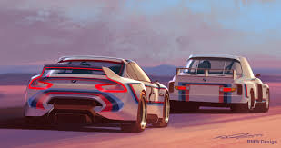 bmw concept csl second concept shown by bmw at pebble beach is the 3 0 csl hommage