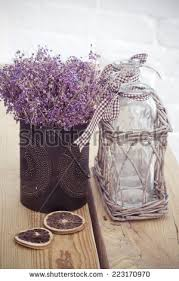 Lavender Home Decor Rustic Home Decor Provence Style Lavender Stock Photo 223165186