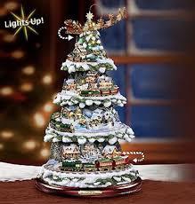 tree kinkade express animated tabletop
