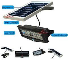 solar led flood lights power 1000lumen solar motion led flood light 10 watts of high power