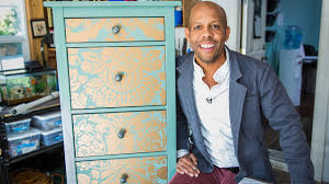 home u0026 family how to makeover your dresser using wallpaper youtube