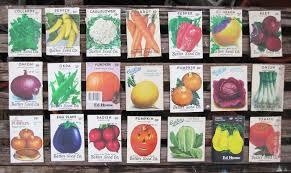 vintage seed packets vintage seed packets tofts creation