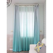 Floor To Ceiling Curtains Ombre Solid Elegant Insulated Floor To Ceiling Apartment Curtains