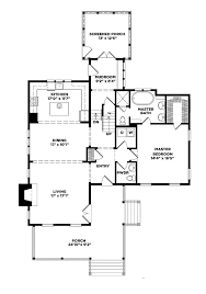 floor plans southern living floor southern living cottage floor plans