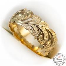 gold hand rings images Buy a handmade 14k gold hand engraved hawaiian jewelry ring with jpg