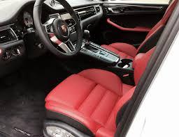 Porsche Macan White - 2015 macan s white w partial leather red porsche macan forum