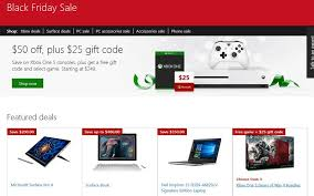 amazon black friday 2016 codes apple microsoft u0027s black friday deals here u0027s what they are