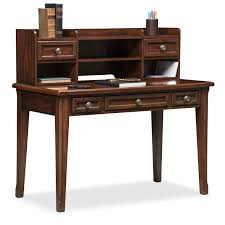 Cherry Desk With Hutch Hanover Youth Desk And Hutch Cherry American Signature Furniture