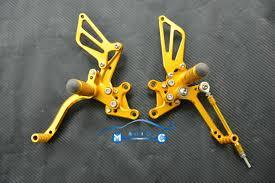 cnc rearset foot pegs rear set for suzuki gsxr 600 750 1000 k1 k2