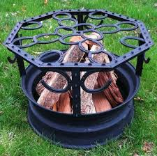Bbq Firepit 10 Creative Recycling Diy Grill Bbq And Pit Projects 1001