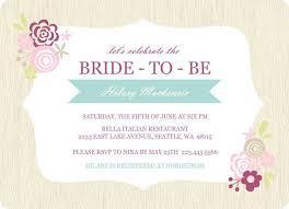 brides invitation templates free bridal shower invitation