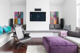 Purple Color Shades Modern Interior Design Ideas Decorating Accents In Purple Color