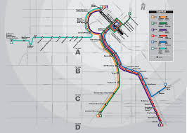 light rail w line official map update denver rtd light rail west transit maps
