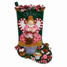 felt christmas kits felt christmas kits angel ebay