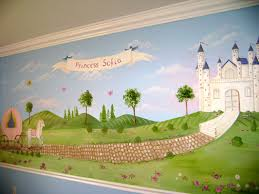 Childrens Murals Decorating Ideas For Baby Toddler Kids - Kids rooms murals