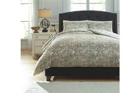 kelby 3 piece queen duvet cover set ashley furniture homestore