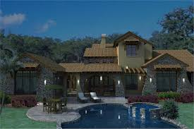 Luxury House Plans With Pictures 4 Bedrm 3691 Sq Ft Luxury House Plan 117 1093