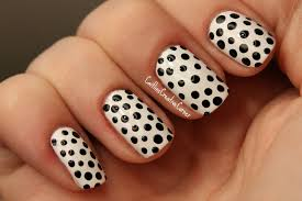 white and black nail polish design white nail polish on gold