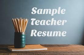 Kindergarten Teacher Resume Job Description by Teacher Cover Letter