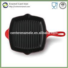 ustensiles de cuisine en fonte fonte potjie pot français frites pan marmite émaillé pots plaque de