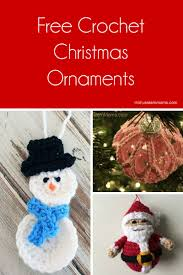 free crochet ornaments patterns