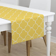 Quatrefoil Table L Quatrefoil 2 Medium Creamsicle On Minorca By Drapestudio