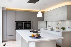 cuisine high tech kitchen island astounding kitchen island ideas modern gray white